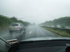 m4 in rain