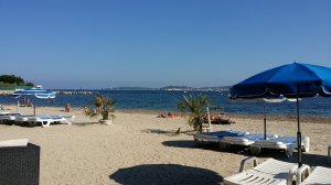 looking across to St Tropez