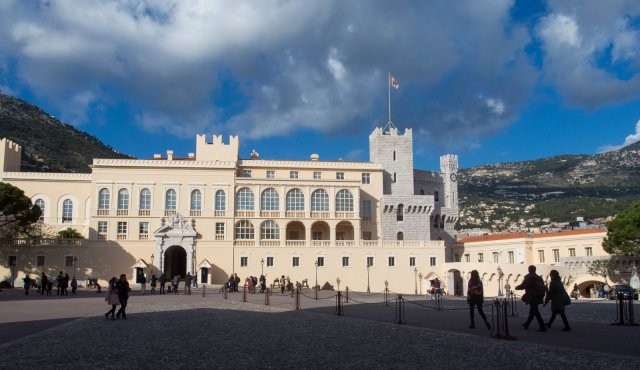 Palace of the princes of Monaco
