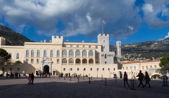 Palace of the princes of Monaco