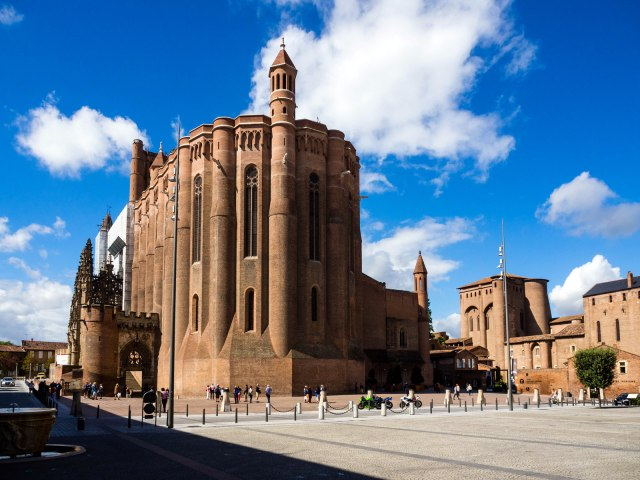 The astonishing brick cathedral at Albi