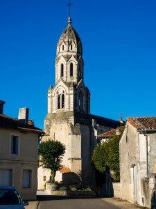 The church in Bertric Burée