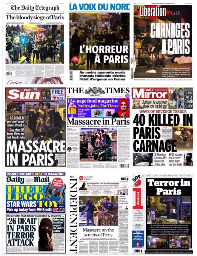 paris shootings