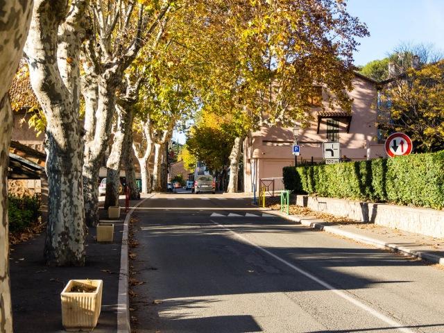 Taradeau's main street