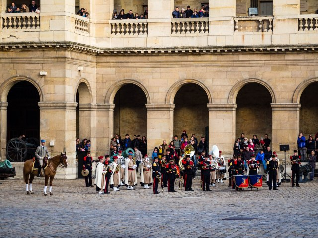 The band at Les Invalides