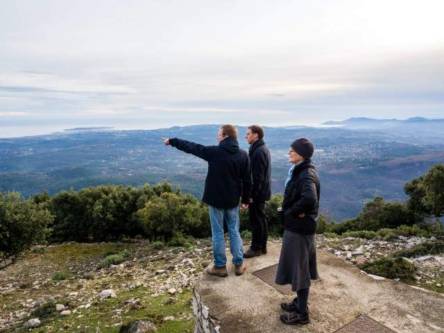 looking at Corsica