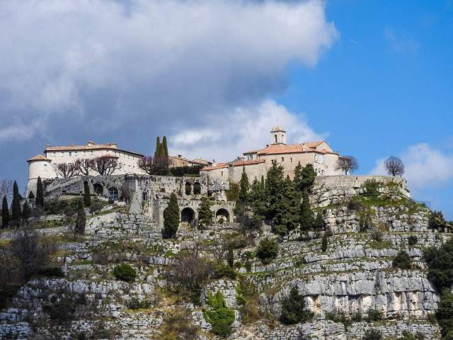 "Gourdon is a classic provencale ""perched"" village and unsurprisingly gets the ""Plus Beaux Villages de France"" award"