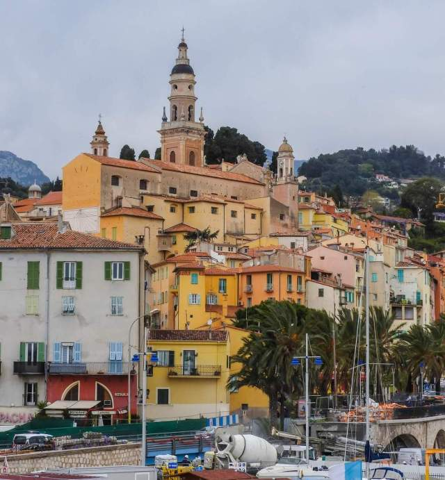 The old part of Menton