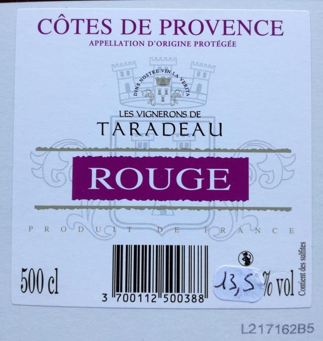 Taradeau wine