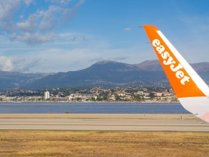 That's Pic de Courmettes from Nice Airport