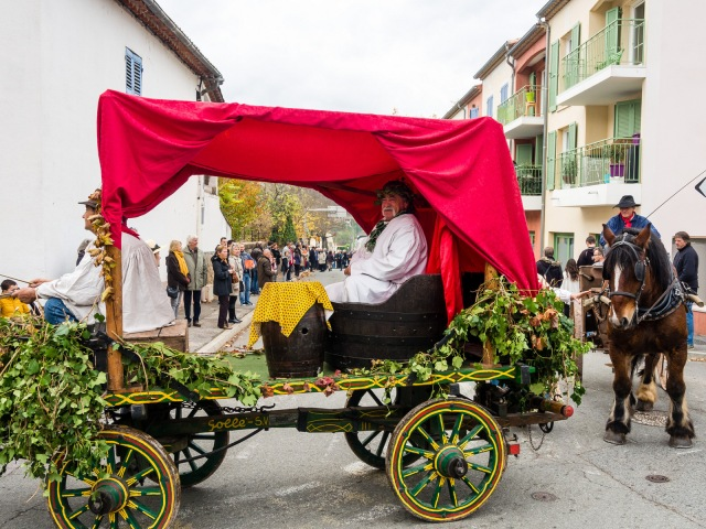 Bacchus in his chariot
