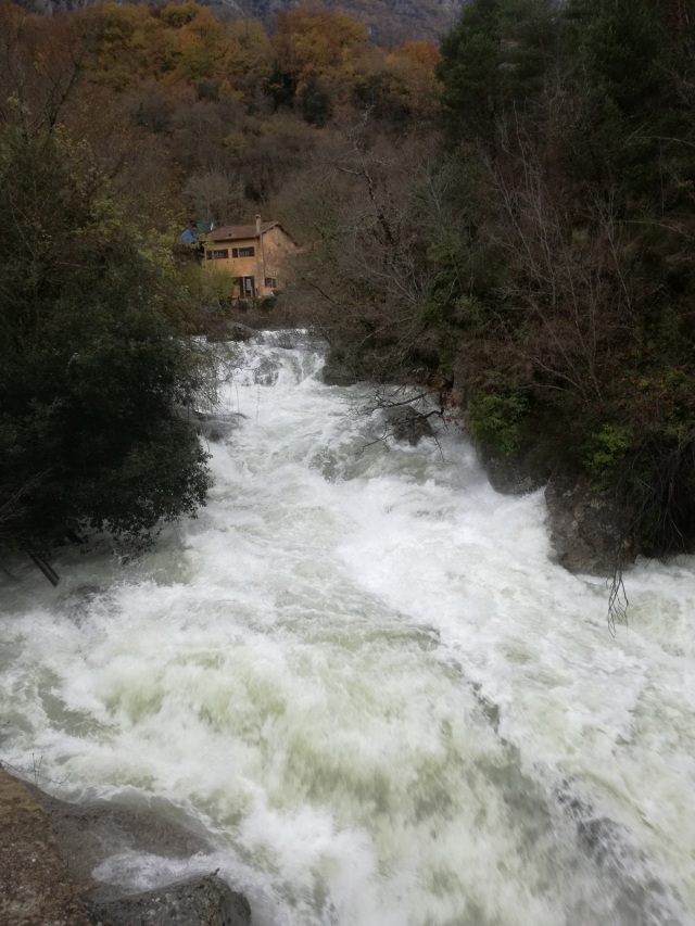 and this is what the River Loup looked like the day after the rain