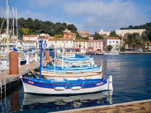 Boats at Saint-Mandrier
