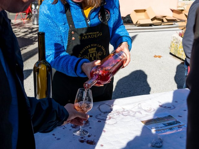 pouring the new wine